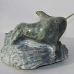 Inglesfield Fjord Narwal Sculpture