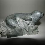 Basking Seal Sculpture
